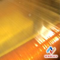 China 2310 OIL SYNTHETIC FIBER YELLOW VARNISHED CLOTH use for hand winding coil on sale