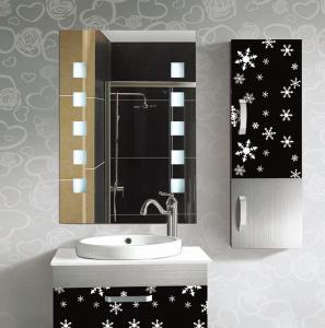Quality Rectangular Frameless Bathroom Mirror / Decorative Wall Mirrors For Bathrooms wholesale