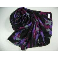 Quality Printed Cotton Scarf (HP-C199) wholesale
