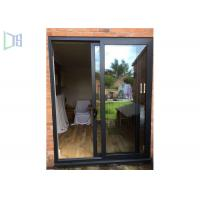 Quality Sound Proof Aluminium Sliding Windows / Doors Low - E Glass AS2047 Cetification wholesale
