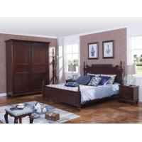 Cheap Rubber Wood made bedroom furniture in Special design Modern Headboard with wood for sale