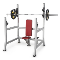 Quality Anti Rust Home Gym Squat Rack Bench 3.5mm Tube Thickness Heavy Duty wholesale