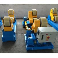 Automatic Pipe Tank Turning Rolls PU Coated 10 Ton Rotary Capacity