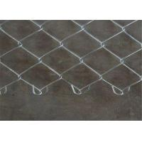 China 48 x 100' Size 60mmx60mm Galvanized Chain Link Mesh Fence Project on sale