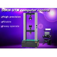Buy cheap 5 Ton UTM Electronic Universal Testing Machine 50KN Computer Servo Control from wholesalers