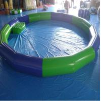 Quality High Strength PVC Swimming Pool , PVC Inflatable Lap Pool  4.5M*4.5m For Kids wholesale
