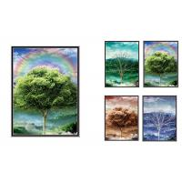Quality Natural Scener And Animal Style Flip 3D Lenticular Pictures 30*40cm For Home Decro wholesale