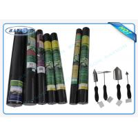 Quality 100% PP Raw Non Woven Landscape Fabric Protect Plant / Garden / Fruit / Weed Control wholesale
