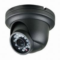 Quality 480TVL CCD Dome Camera, 1/3-inch Sony Super HAD CCD/3.6mm Lens/23 IR LEDs, Weather, Vandal-resistant wholesale
