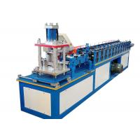 Quality Metal Decoration Door Shutter Roll Forming Machine High Speed 30-50 M / Min wholesale