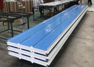 China Blue 150mm Fire Retardant EPS Foam Insulation Board on sale