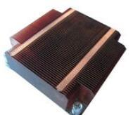 Quality GS ROHS Aluminum Heat Sinks ,Thin Round Silver Copper Cooling Fin wholesale