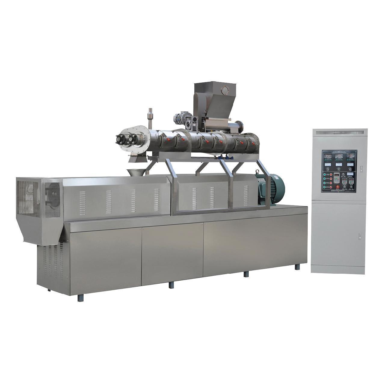 Quality 900kg/h twin screw extruder South Korea fish feed pellet machine price wholesale
