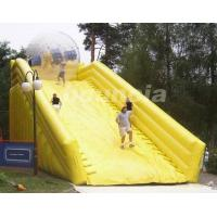 Quality PVC Tarpaulin Inflatable Zorb Ramp For Inflatable Zorbing Ball wholesale