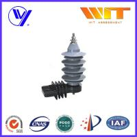 Quality 15KV Distribution Power Networks Metal Oxide Surge Arrester Gapless with Kema Tested wholesale