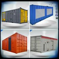 Quality Containerized VMAN generator sets, 600- 830 Kw diesel generator with container wholesale