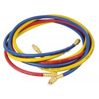Quality REFRIGERANT CHARGING HOSE WITH BRASS FITTING, CHARGING HOSE, 800PSI TO 4000 PSI, RYB-03 wholesale