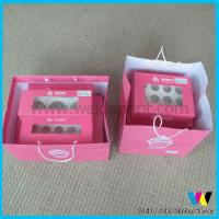 China China clear disposable cupcake boxes wholesale with paper bag on sale