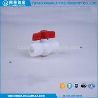 Quality Light Weight PPR Ball Valve , Pvc Pipe Fittings Convenient Installation wholesale