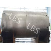 Quality High Strength Steel Integral Type Wire Rope Winch Drum For Crane Winch wholesale