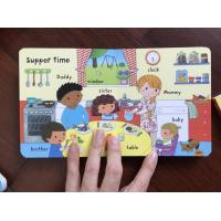 Quality Self Publish Custom Photo Baby Board Book Die Cut Hard Cover Binding OEM wholesale