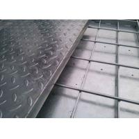 Quality 15-W-4 Compound Steel Grating / Stainless Steel Mesh Grate With Checker Plate wholesale