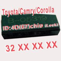 Quality 4D 67 Duplicable Chip 32XXX Car Key Transponder Chip for Toyota / Camry / Corolla wholesale