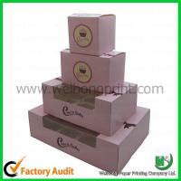 Quality Cupcake boxes cheap   PVC winodw and insert  Custom-designed wholesale
