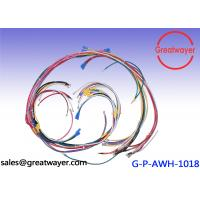 Quality Auto Bike Motorcycle Wiring Harness UL 1015 14AWG Red Disconnector Female wholesale