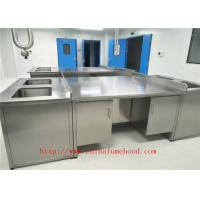 Quality Stainless Steel Lab Workstation and Lab Workbench Stainless Steel Lab Furniture  For Oversea Importers wholesale