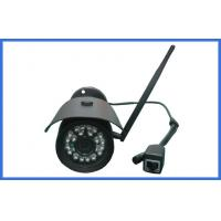 Quality 720P Wireless IP Camera Outdoor IR Bullet Camera Waterproof With 24pcs LED Lamp wholesale