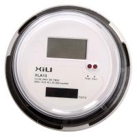 China Small Round Electronic ANSI Socket Energy Meter with Single Phase 3 Wire on sale
