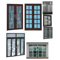Quality Laminated / Double Glazed PVC Window & Door For Residential Houses wholesale