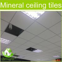 China acoustic mineral fiber ceiling tiles on sale