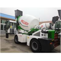 Quality Yuchai YCD4J22G Engine Self Propelled Concrete Mixer Drum Volume 5550 Liters wholesale