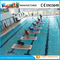 Quality DWF Material Customized Water Toys Inflatable Water Floats Yoga Exercise Mats wholesale