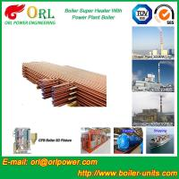 Quality Oil Fired Boiler Super Heater , Platen Superheater In Thermal Power Plant wholesale