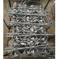 Quality Wrought Iron Elements/ Ornaments/parts  for balusters and gates decorative -- Cast iron scroll C or S wholesale