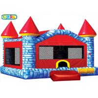 China Castle Adult Size Bounce House / Commercial Bouncy Castle Fire - Resistant on sale