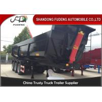 Buy cheap 3 Axles 40 Tons 25-40 Cubic Meters Transport Sand Tipper Semi Trailer from wholesalers