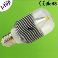 Quality 6063 Aluminum Silver COB Bridgelux Dimmable LED Light Bulbs for Home Lighting E26 6w 450Lm wholesale