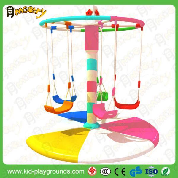 cheap electric swing set swing soft play motor children