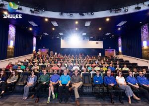 Quality Entertainment  Fiber Glass 7D 9D Movie XD Theater wholesale