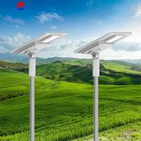 China Unike led solar street light all in one solar led street light slim led street light on sale