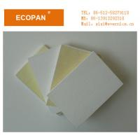 China Noise / Sound Absorbing Glass Fiber Board Insulation , Acoustical Ceiling Panels 12mm on sale