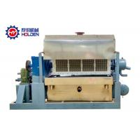 Quality Powerful Paper Tray Forming Machine , Egg Apple Tray Paper Pulp Making Machine wholesale