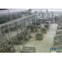 China Orange / Mango Juice Processing Line , Automatic Apple Juice Production Line on sale