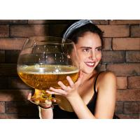 Quality KTV Bar Party Oversized Wine Glass / Popular Large Brandy Glass In Stock wholesale