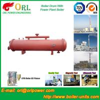 Quality 300 ton ionic boiler mud drum ORL Power wholesale