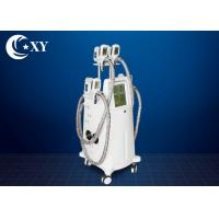 Quality 4 Treatment Heads Cryolipolysis Slimming Machine 220V / 110V For Beauty Salon wholesale